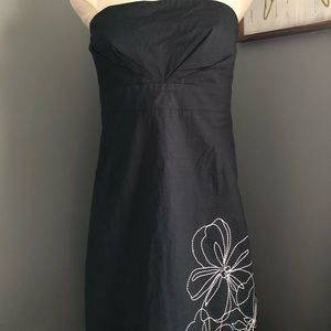 New York & company strapless dress